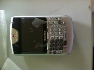 BlackBerry 8707v trắng, máy nguyên zin mới 99%, BH 6 tháng