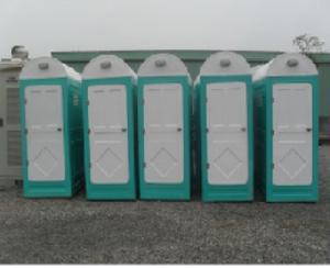 Công ty bán nhà vệ sinh di động hoàn thiện.