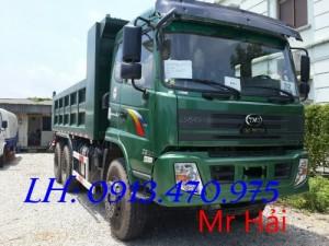 Xe tải ben Cửu Long 3 chân 13,1 tấn TMT KC240D 6x4