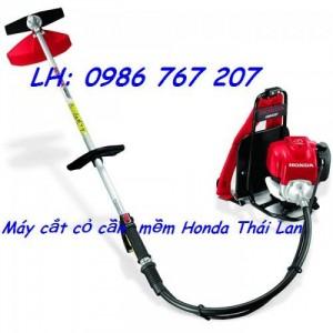 Máy cắt cỏ Honda UMR435T, máy cắt cỏ cần mềm đeo lưng giá rẻ