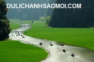 Du lịch Tam Cốc – Bích Động – chùa Bái Đính 1 ngày giá rẻ 2015