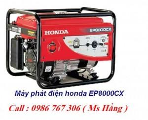 Máy phát điện honda,máy phát điện honda ep8000cx chính hãng giá rẻ.
