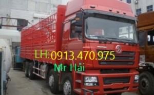 Xe tải thùng SHACMAN 4 chân 310PS