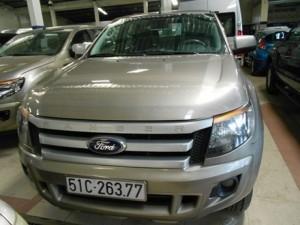 Ford Ranger XLS sx 2012 màu ghi vàng