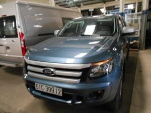 Bán Ford Ranger XLT sx 2013 xanh thiên thanh