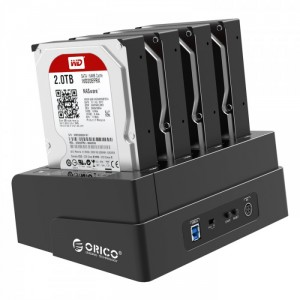 Docking 4 HDD Orico 6648US3-C, USB 3.0, Sao...