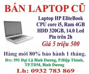 Bán Laptop dell, HP, Asus cũ ở Bình Dương giá rẻ