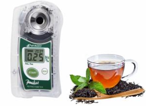 Khúc xạ kế đo nồng độ trà