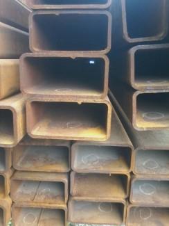 Hộp thép, thép hộp chữ nhật 100 x 200 x 6 x 12000mm