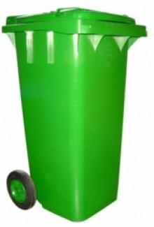 Thùng rác 120l nhựa HDPE