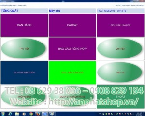 Phần mềm tính tiền salon tóc, spa, nail giá rẻ tại Kiên Giang Long An Bến Tre