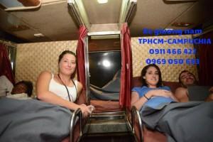 Xe bus đi Campuchia giá rẻ