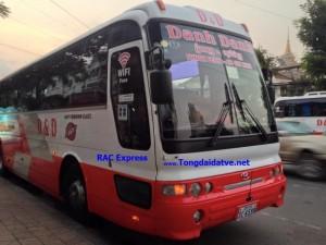 Xe buýt VIP đi Campuchia