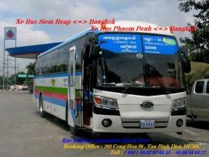 Xe buýt đi Băng Kok - Xe đi Thái Lan