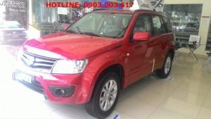 Cần bán 1 chiếc Suzuki Grand Vitara màu đỏ,...