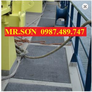 Tấm sàn cho lối mương thoát nước, sàn lưới không rỉ sét, tấm sàn kháng hóa chất