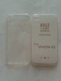 Ốp lưng IPhone 4, 4s silicon dẻo