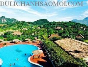 Tour du lịch Kim Bôi Hoà Bình 1 ngày tắm khoáng nóng giá rẻ