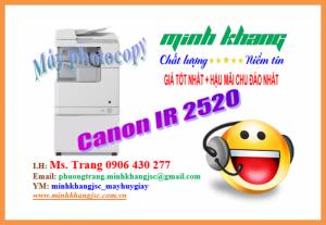 Bán máy photocopy Canon iR 2520 Copy, In,Scan Màu,Duplex dùng khổ giấy A3-A4