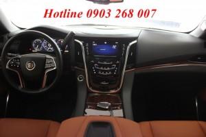 Xe Cadillac Escalade Premium & Becker 2015