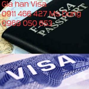 Bảng giá xin gia hạn visa