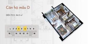Chủ nhà cần bán gấp căn hộ 84m2 tại chung cư...