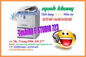 Máy photocopy Toshiba e-Studio 723 chính hãng giá cực tốt. Bảo trì miễn phí
