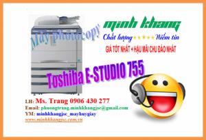 Máy Photocopy Toshiba e-Studio 755 giá rẻ