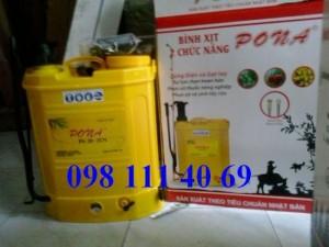 Bình phun thuốc trừ sâu, bình phun sạc điện Pona 20L giá rẻ