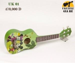 Đàn Ukulele Soprano: UK 01