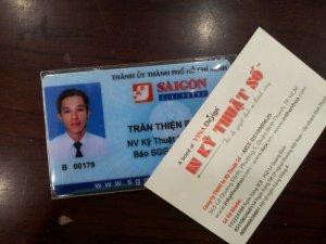 In thẻ nhân viên tại TP.HCM