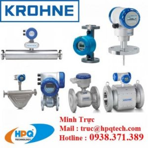 Đại lý Krohne tại Việt Nam,Thiết bị đo lưu lượng Krohne, thiết bị đo lường Krohne