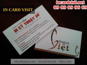 In nhanh card visit