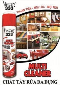 Vietcare 333 MultiCleaner, chất tẩy rửa đa dụng dạng bọt