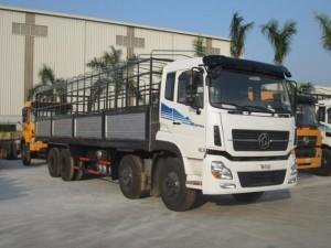 Xe tải Dongfeng Trường Giang 17T5 4 chân 2 Cầu 2 Dí