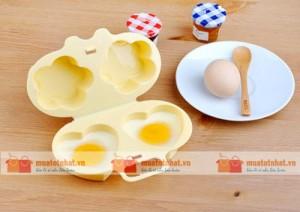 Khuôn ốp lếp trứng, đổ bánh crepe trong lò vi sóng