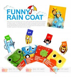 Áo mưa trẻ em Linda xuất Nhật (Loại 1)