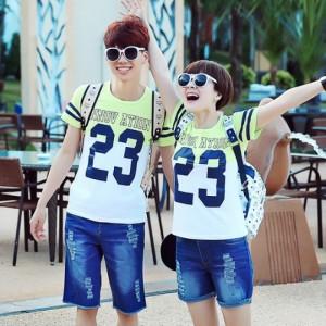 Áo Thun Nam Nữ - 10 áo giá 43k/áo