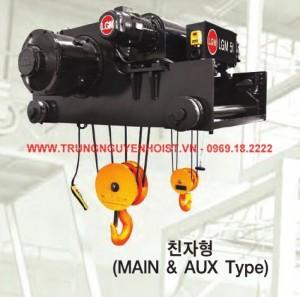 Palang cáp điện LGM 02 móc nâng 20/5 tấn
