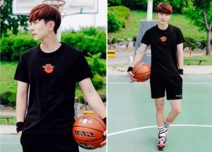 Áo thun bóng rổ nam tính