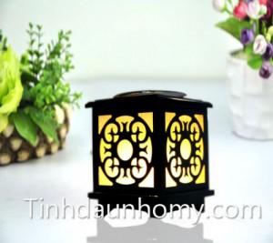 Đèn gỗ hình hoa hướng dương