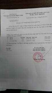 Dịch vụ xin Visa 1 Năm