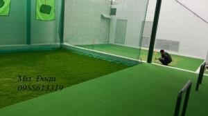 Thiết kế, thi công sân golf cỏ nhân tạo