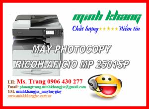 Máy Photocopy Ricoh Aficio MP 2501 SP/RICOH Aficio MP 2501SP mới giá cực tốt