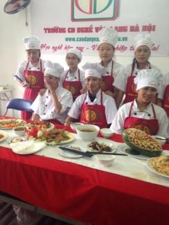 Xét nguyện vọng 2 học cao đẳng nấu ăn tại Hà Nội