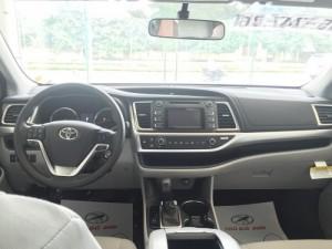 Bán xe Toyota Highlander SX 2016 Màu Trắng,