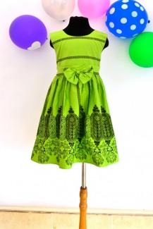 Đầm xanh lá size đại