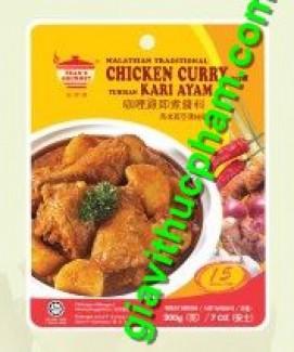 Gia vị nấu cà ri gà