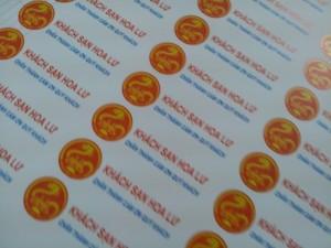 In tem decal giấy giá rẻ bất ngờ - nhanh chóng - chính xác - in kỹ thuật số