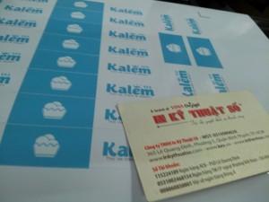 Nhận in decal giấy, tem nhãn các loại. Rẻ - đẹp - chất lượng, lấy liền trong ngày